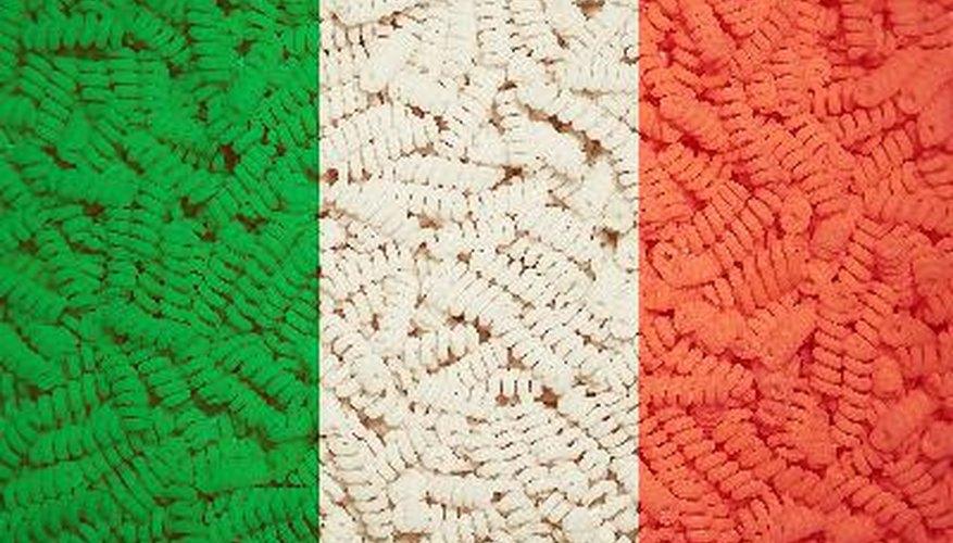 La historia de Italia al alcance de los niños.
