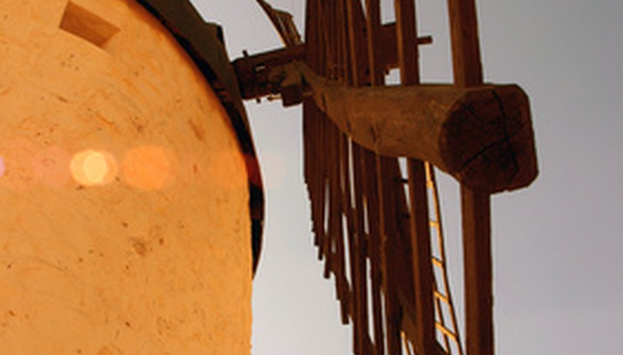 Los anemómetros pueden utilizarse para determinar el mejor lugar para instalar un molino de viento.