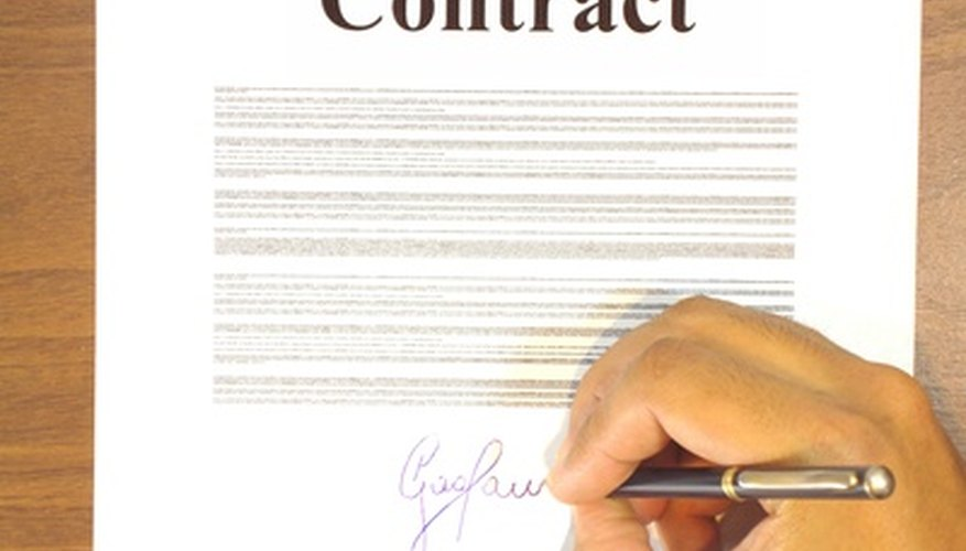 Home purchase contracts contain small differences from one state to another.