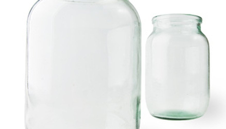Antique Ball jars are readily available and not very expensive to buy.