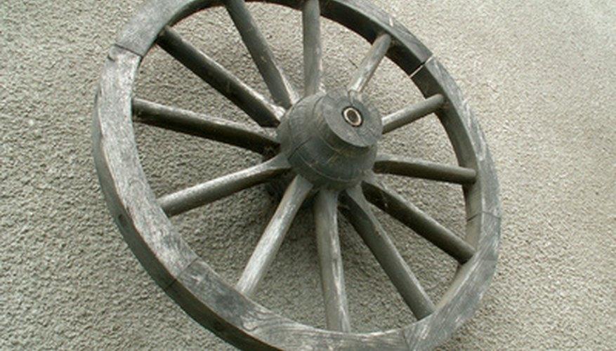 Una rueda.