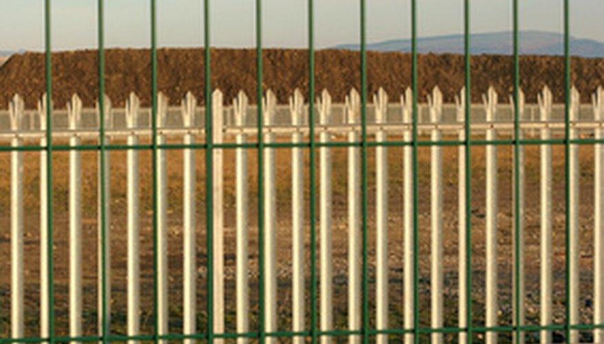 Las cercas de vinilo son mucho más caras.