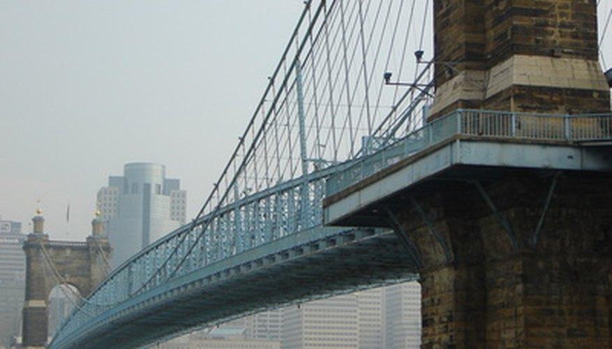 Aprende sobre la construcción de un puente colgante.