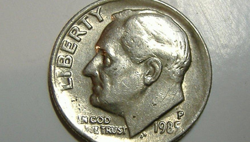 FDR ha sido retratado en la moneda de diez centavos desde 1946.