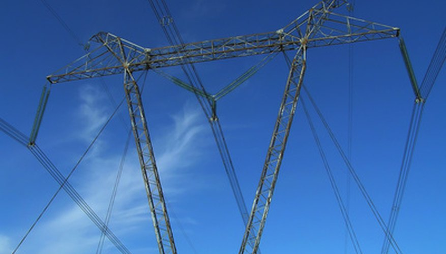 Transmission lines must have some sag to them.