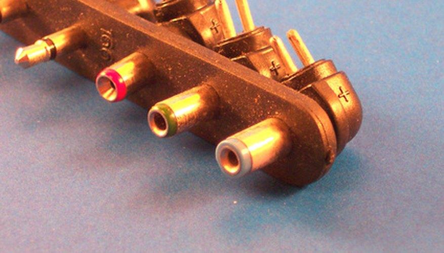 La punta del adaptador se marca para identificar el cable positivo.