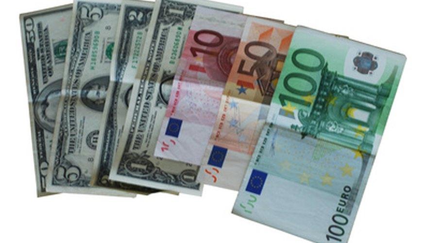 Los tipos de cambio flotantes no sólo cambian con las fuerzas del mercado.