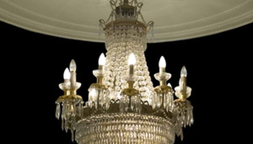 How to identify old chandelier pieces our pastimes old crystal chandelier aloadofball Images