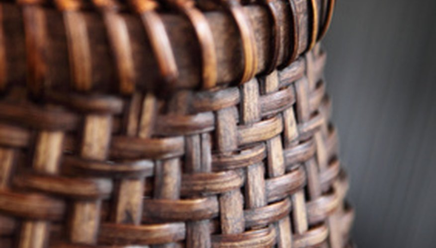 Rattan is used to make crafts and furnishings.