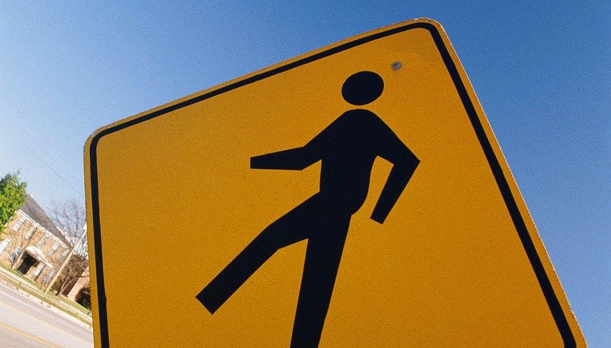 Un esquema simple, al igual que en una señal de peatones, es ideal para PowerPoint.