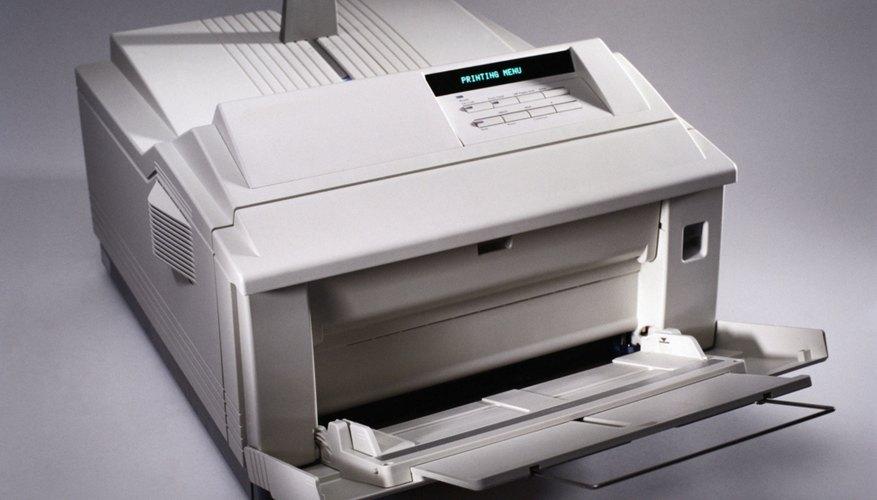 Las impresoras laser se limpian fácilmente.