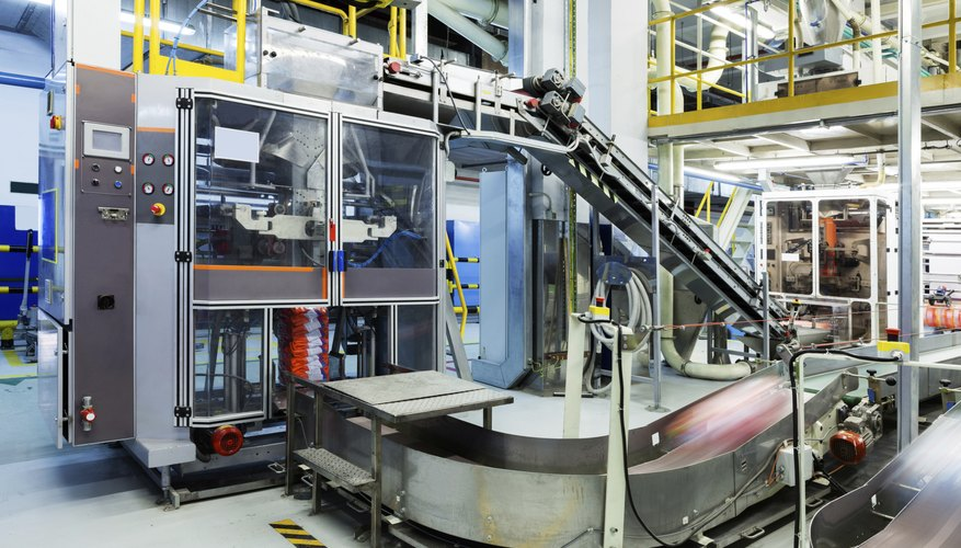 Product manufacturing plant