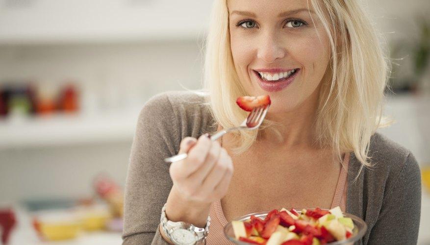 Eat a diet high in fiber.