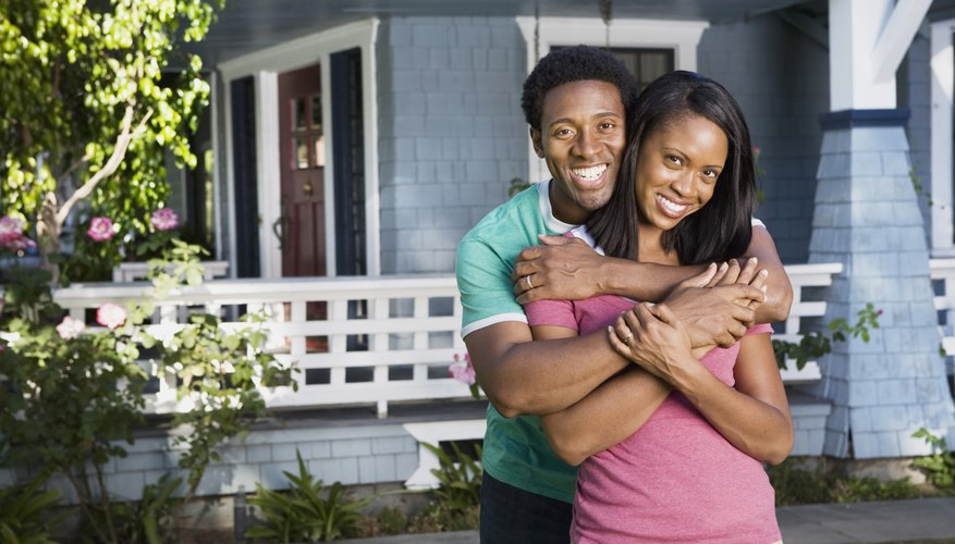 A home purchased with borrowed money is still an asset.