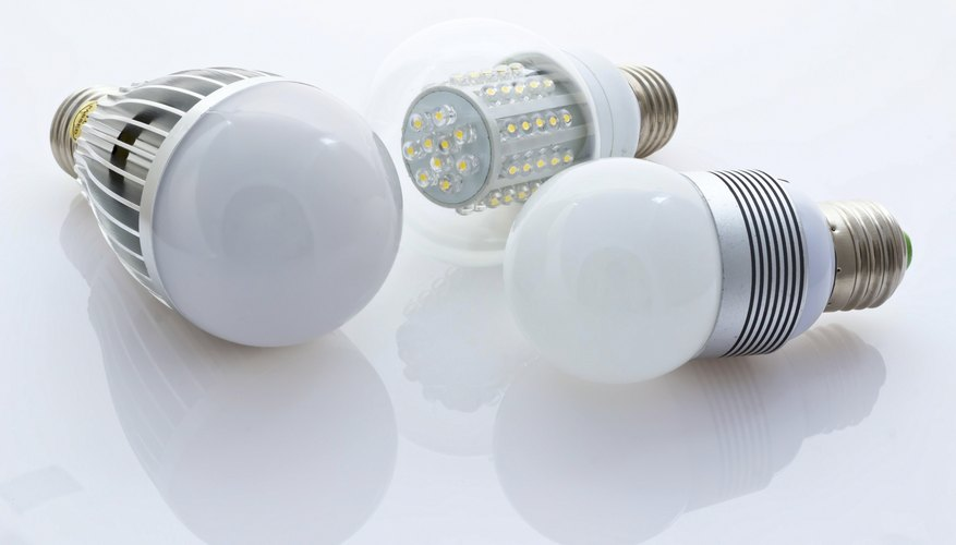 3 types of LED bulbs