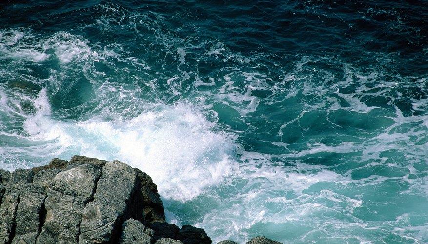 Mar e isla.