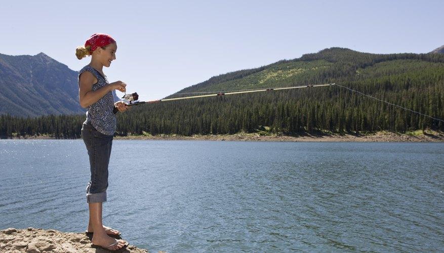 Fishing in Laughlin, Nevada