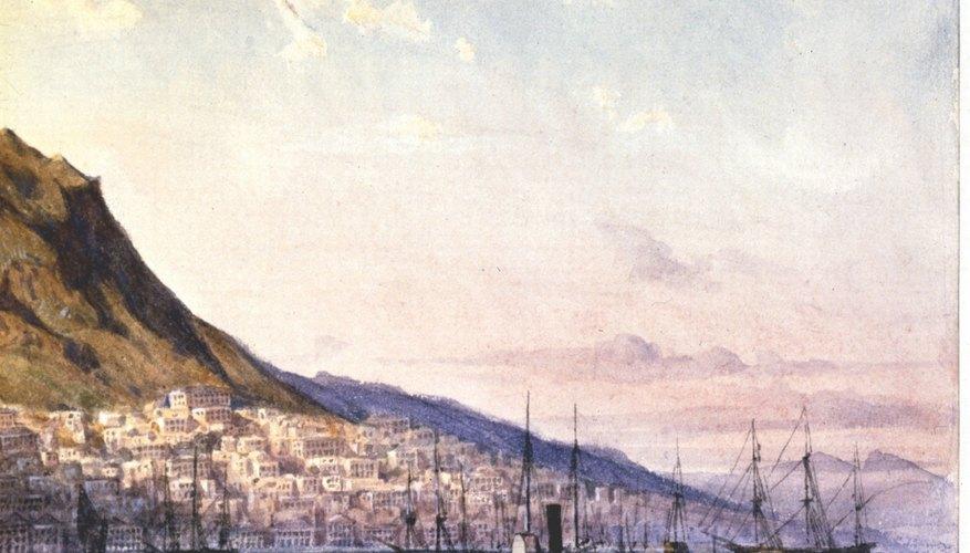 Los paisajes marinos son un tema popular de la pintura.