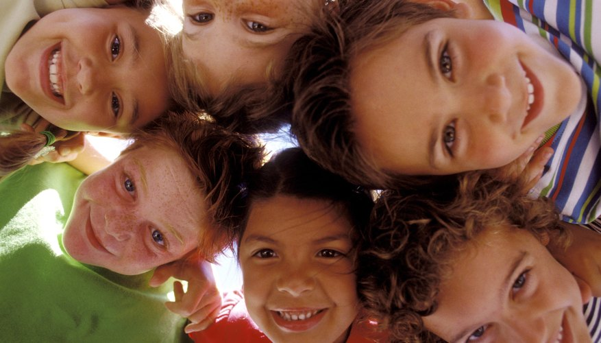 Games can help children learn about social skills necessary for building friendships.