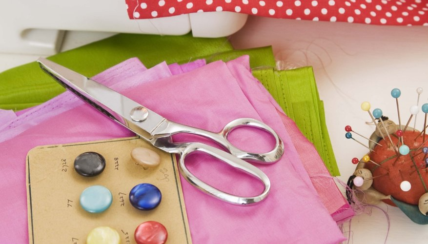 These projects call for machine sewing, but hand sewing can be used in place of a machine.