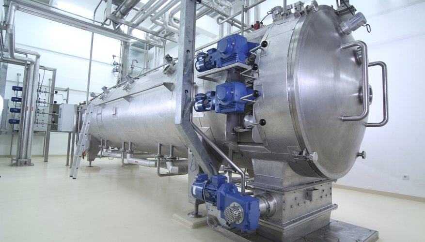 Large tank at a food plant.