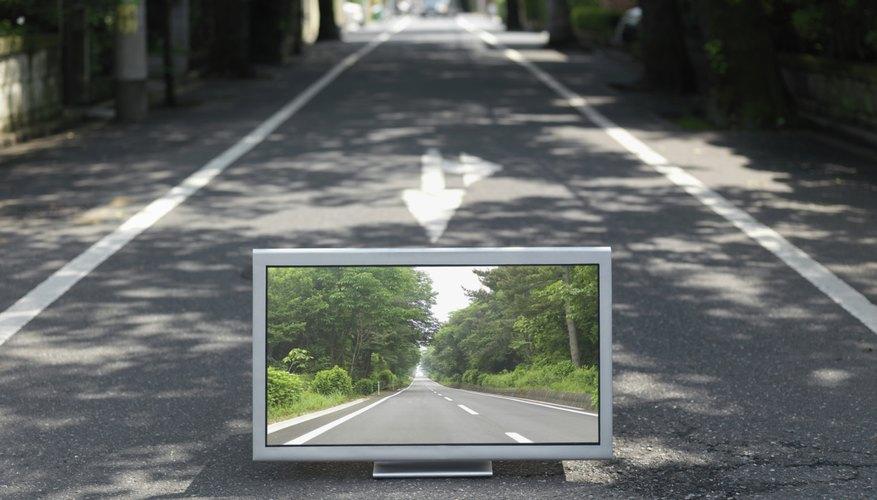 Una TV.