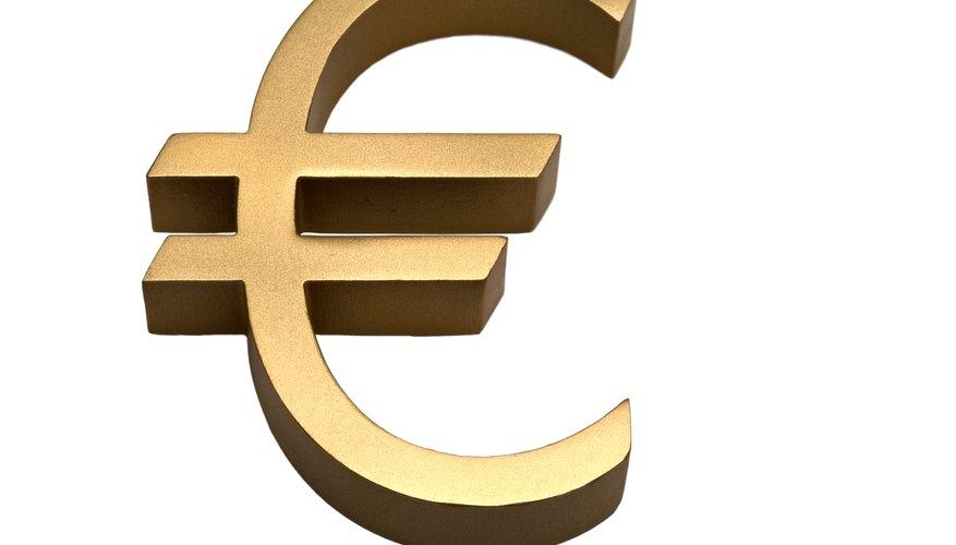 El euro es la moneda de la Unión Europea.