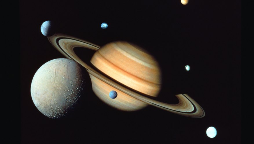 How To Make Rings For Saturn Science Project