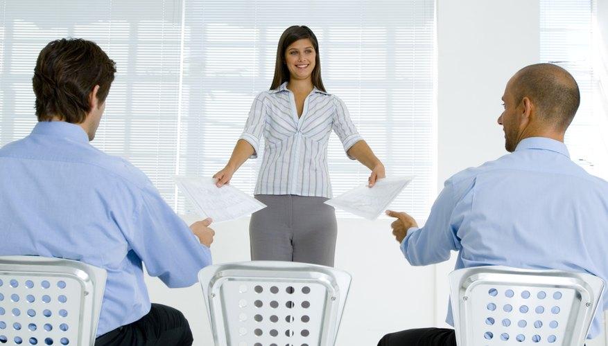 La estructura ideal de mando de una compañía depende de su tamaño.