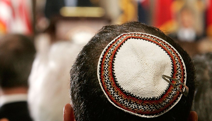 If you can crochet in a circle, you can make a yarmulke.