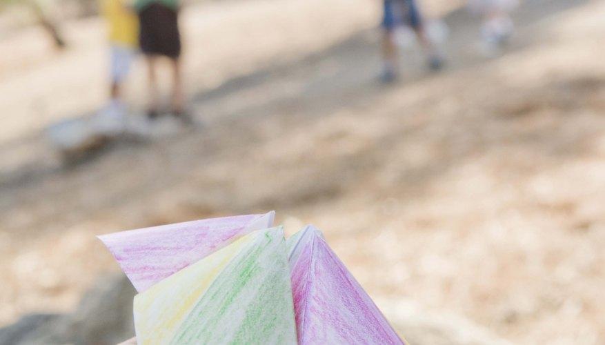 El origami es una forma de arte.