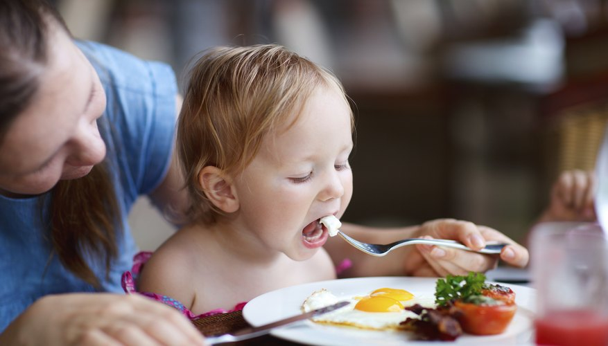 Older babies can eat a wider range of foods.
