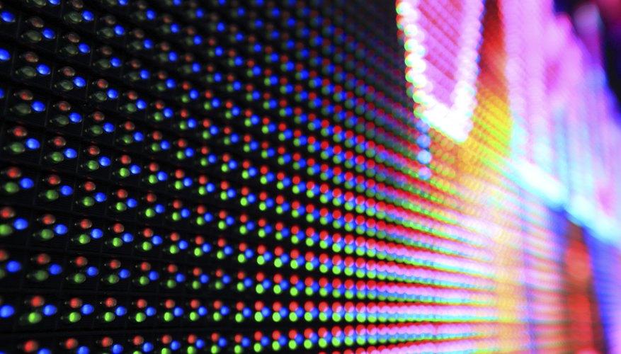 An LED panel.