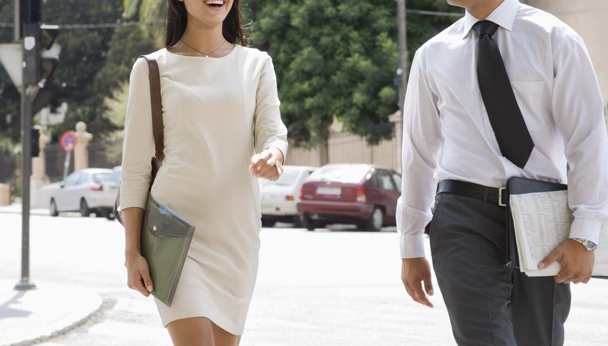 Sparking a conversation on the way to work may open up future dating possibilities.
