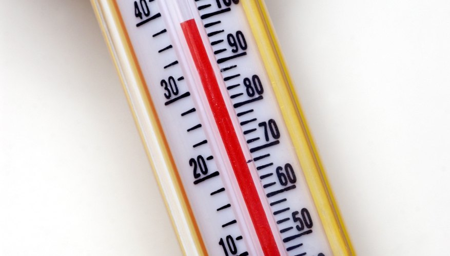 Most Thermometers Show Celsius On One Side And Fahrenheit The Other