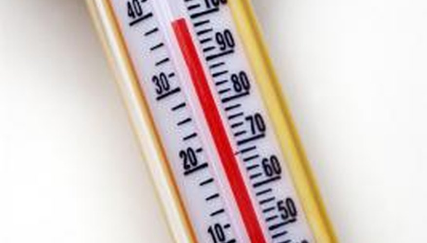 Fourth graders can make thermometers as a science project.