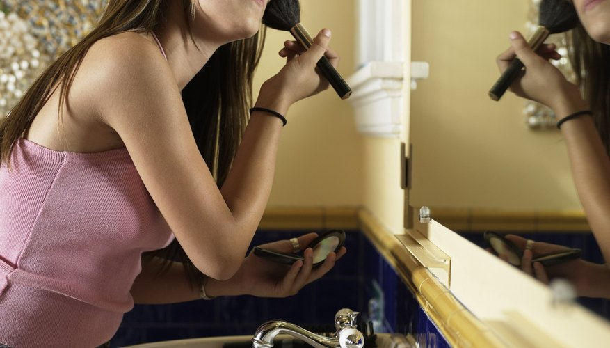 Teenagers often focus on outer beauty to impress peers.