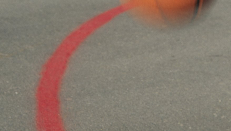 The surface basketball is played on can greatly affect the bounce.