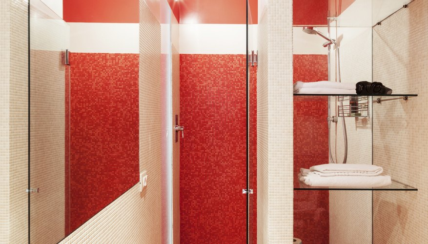 Try a bright colored tile.