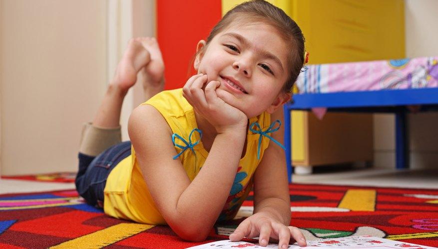 Los niños podrán tener una cómoda y colorida siesta.