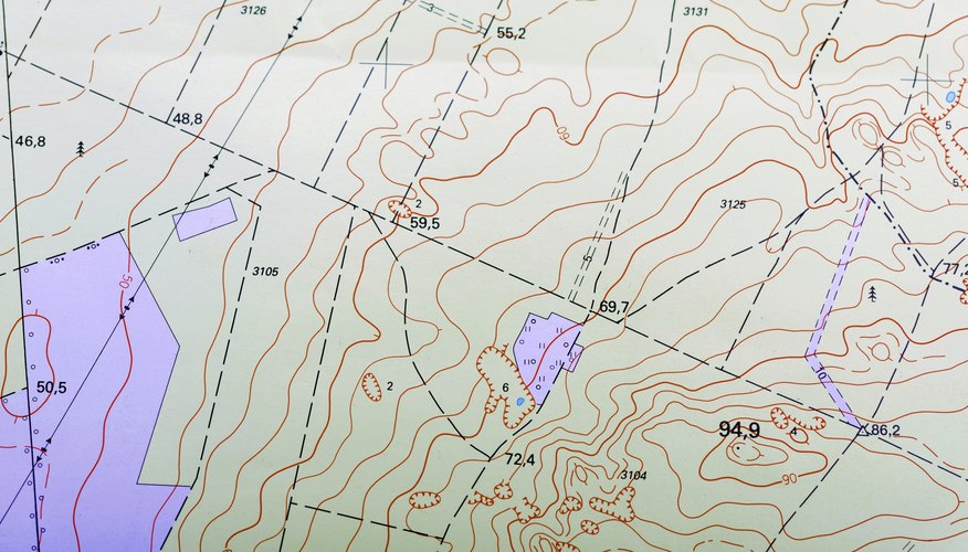 How To Read Topographic Maps Sciencing