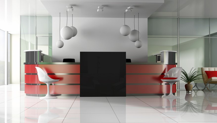 How To Decorate An Office Reception Area Bizfluent