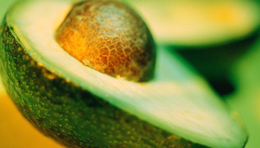Avocados, almonds, hazelnuts, pecans, pumpkin seeds, sesame seeds, olive oil, peanut oil and canola oil.