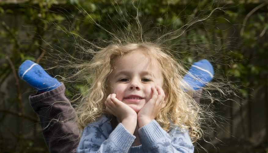 Static electricity is usually harmless, but it can be dangerous for kids.