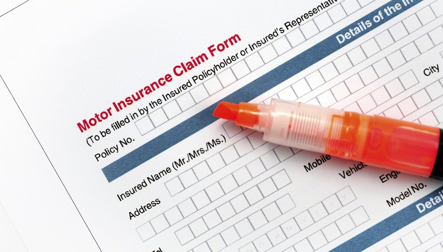 Fill out your insurance claim form once you receive a copy of the police report.