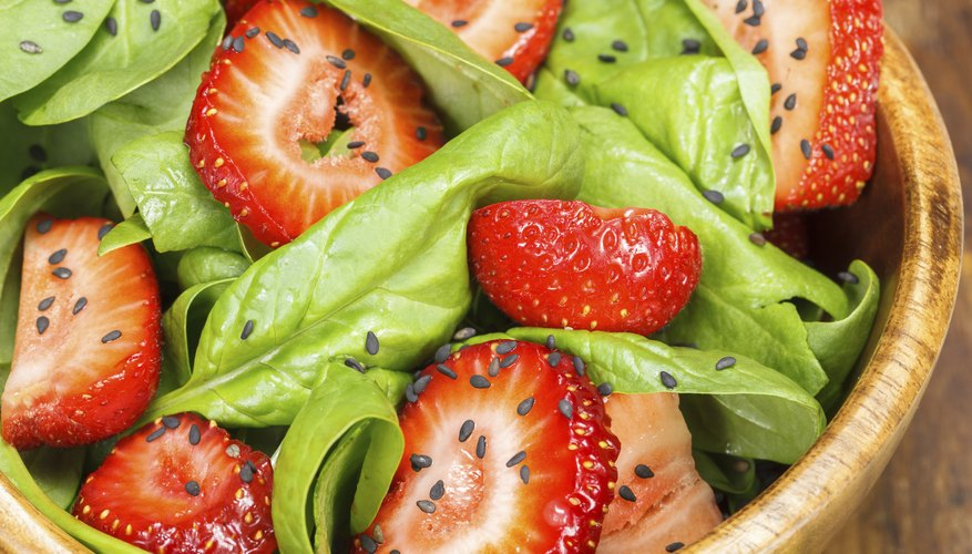Vitamin K can be found in foods like spinach and kale.