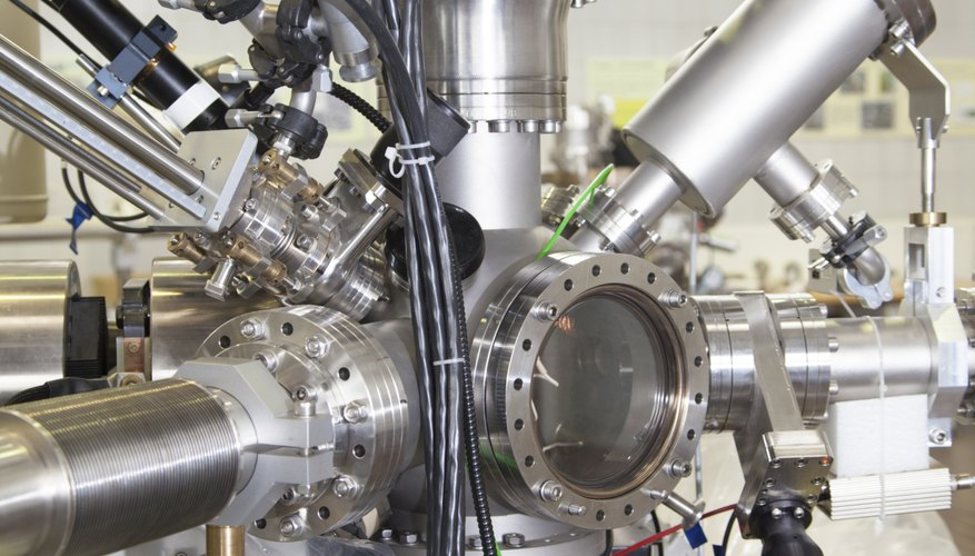 A mass spectrometer helps scientists identify unknown substances.