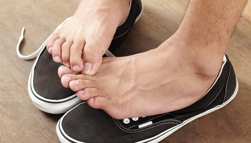 Athlete's foot is ring worm on the foot.