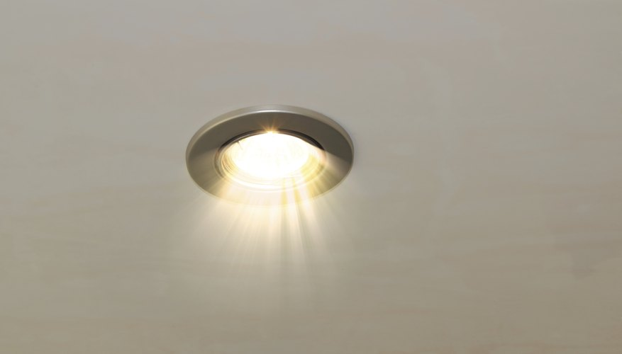 LED light in a home