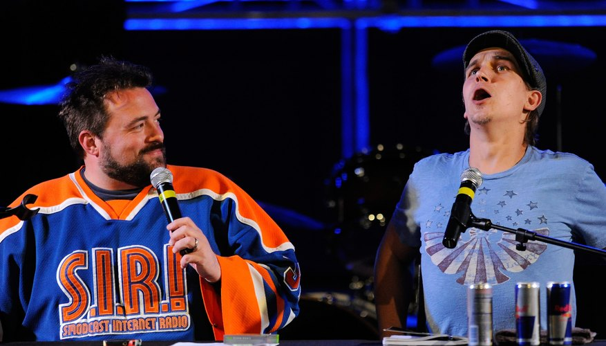 Kevin Smith and Jason Mews played Silent Bob and Jay